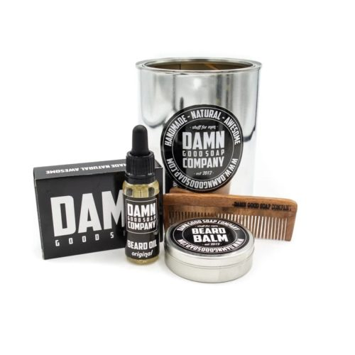 Damn Good Soap baardset Original